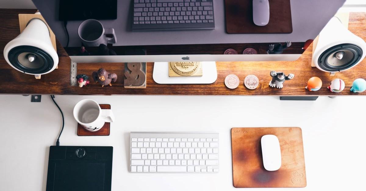 organized and fun desk